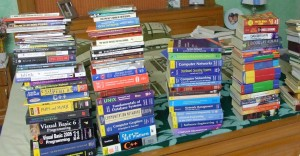 Stack of my books