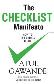 The Checklist Manifesto - Cover