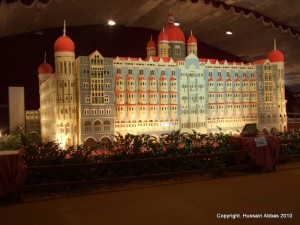 The Taj Mahal Hotel Cake