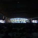 Concert Hall during the music
