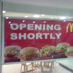 McDonalds - Opening Shortly