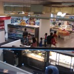 Top view of the grocery and Daily Bread