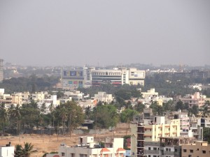 Royal Meenakshi Mall from afar