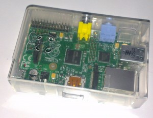 Raspberry Pi with case